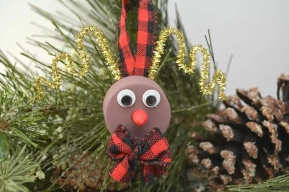 DYI Rudolph Tealight Ornament