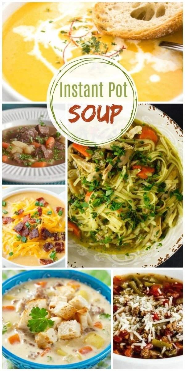Homemade Instant Pot Soup Recipes