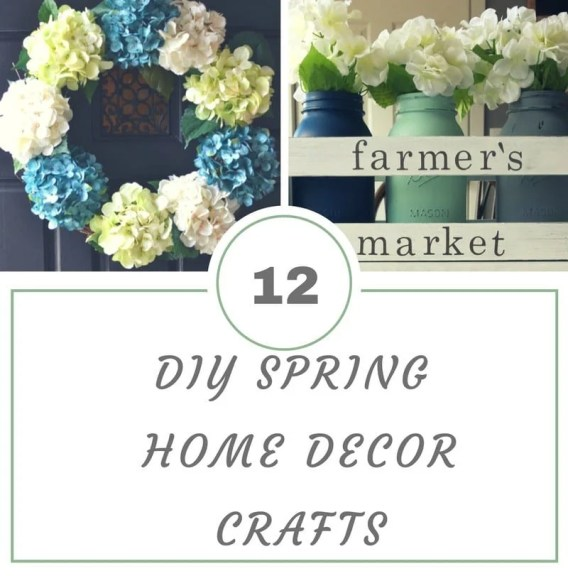 12 Diy Spring Home Decor Crafts Ottawa Mommy Club Ottawa Mommy Club