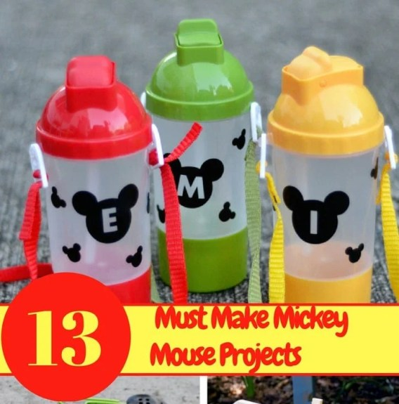 13 Must Make Mickey Mouse Projects