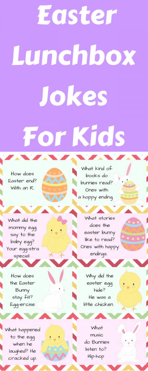 image regarding Printable Jokes for Kids identify Easter Lunchbox Jokes For Little ones - Ottawa Mommy Club : Ottawa