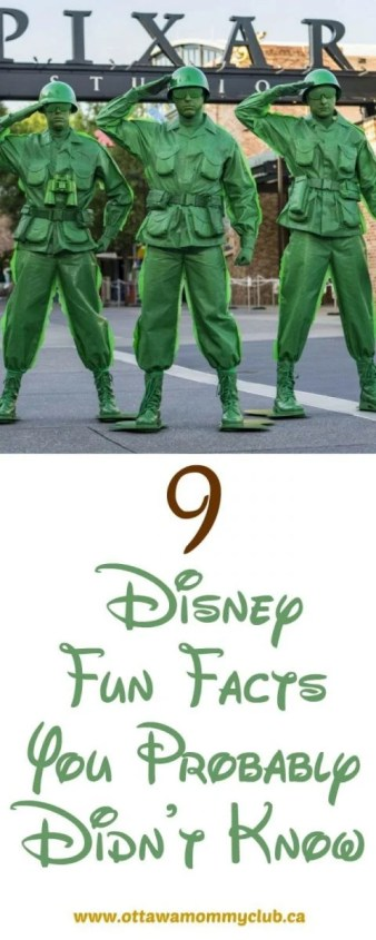 9 Disney Fun Facts You Probably Didn't Know