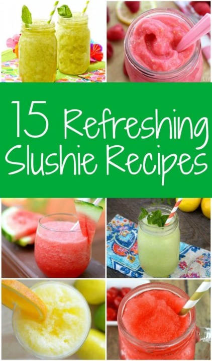 15 Refreshing Slushies Recipes
