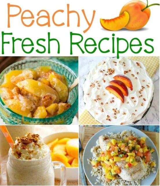 18 Peachy Fresh Recipes