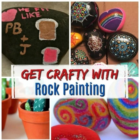 Get Crafty with Rock Painting