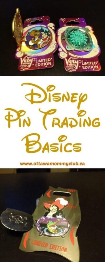 Disney Pin Trading Basics