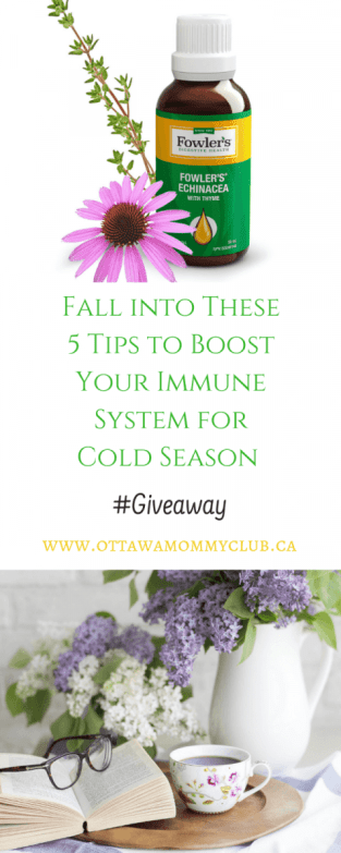 Fall into These 5 Tips to Boost Your Immune System for Cold Season