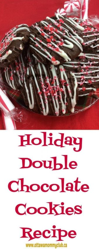 Holiday Double Chocolate Cookies Recipe