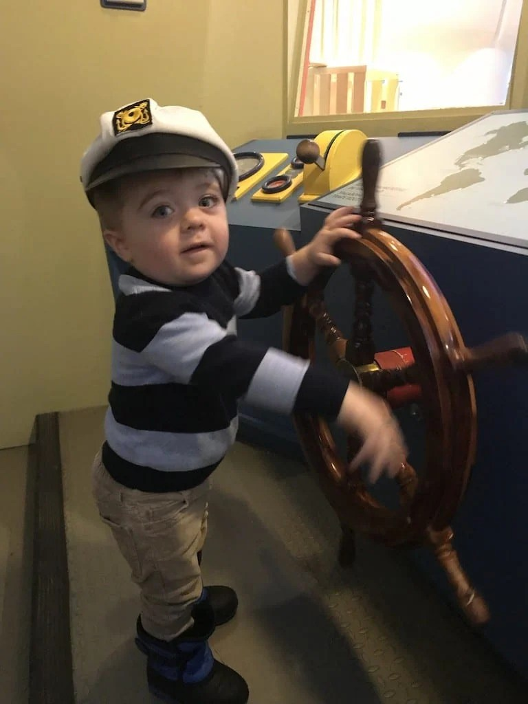 A Day at the Museum of History/Children's Museum