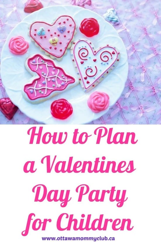 How to Plan a Valentine's Day Party for Children