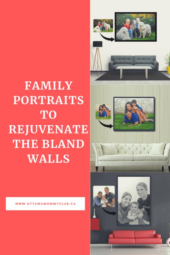 Family Portraits to rejuvenate the Bland Walls