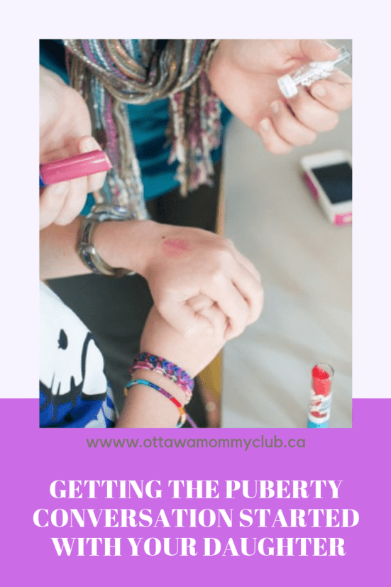 Getting the Puberty Conversation Started with Your Daughter