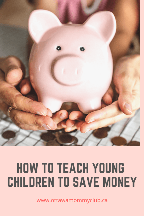 How to Teach Young Children to Save Money