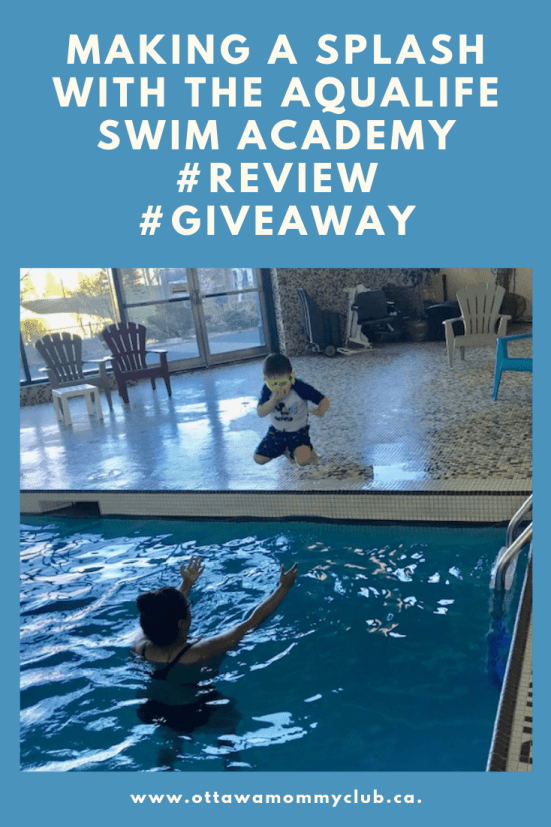 Making a Splash with The Aqualife Swim Academy #Review #Giveaway