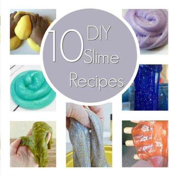 10 Fun DIY Slime Recipes
