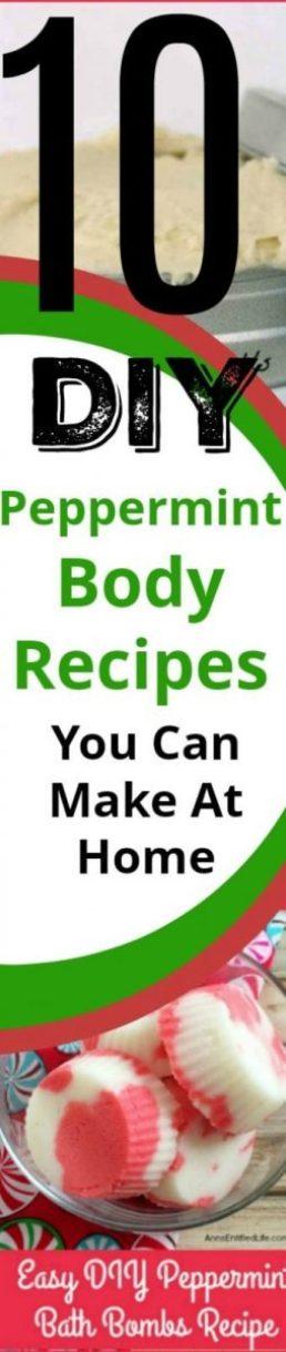10 Peppermint DIY Body Recipes
