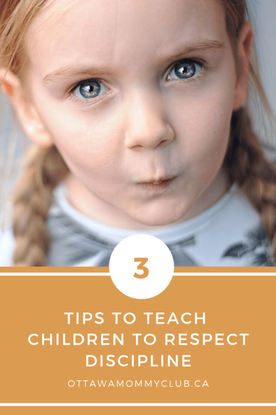 3 Tips to Teach Children to Respect Discipline