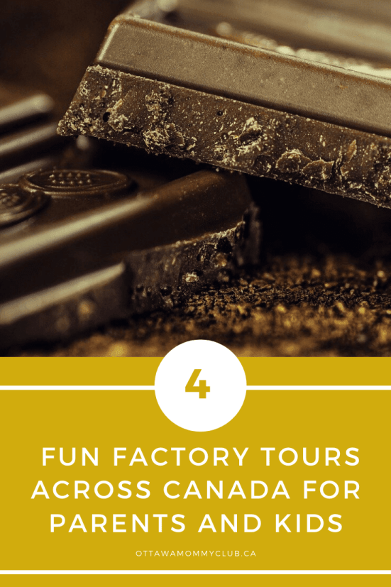 Fun Factory Tours across Canada for Parents and Kids