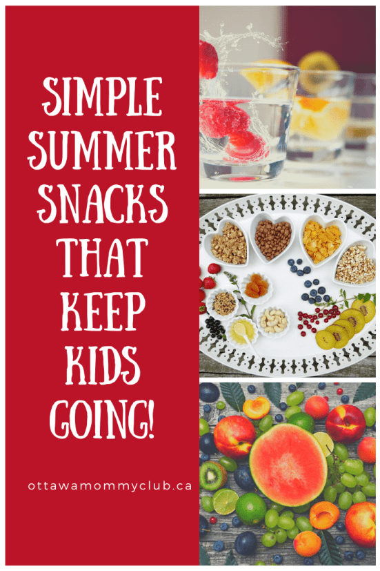 Simple Summer Snacks That Keep Kids Going!