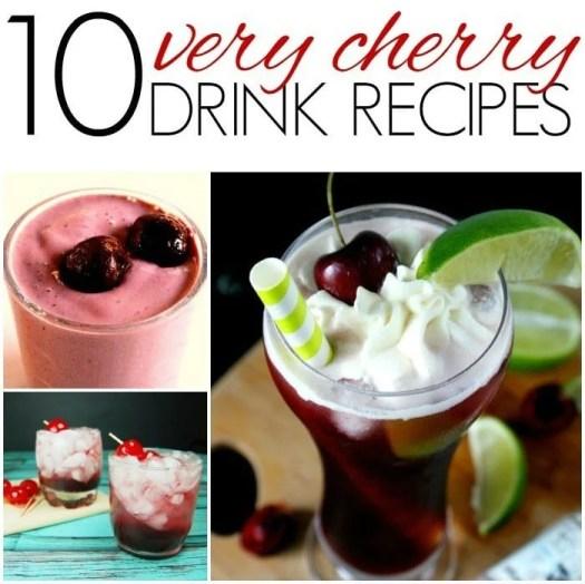10 Very Cherry Drink Recipes
