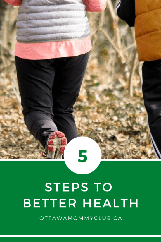5 Steps To Better Health