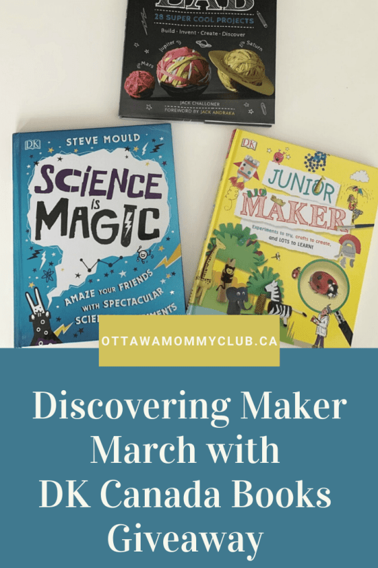 Discovering Maker March with DK Canada Books Giveaway