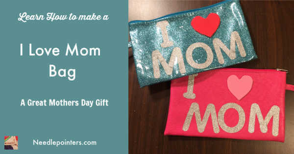 Mom Bag - Mothers Day Craft for Kids | Needlepointers.com