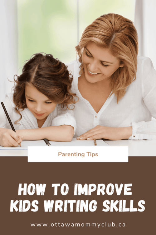 How to Improve Kids Writing Skills