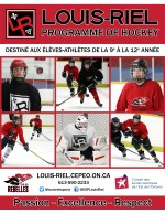 Hockey page couverture
