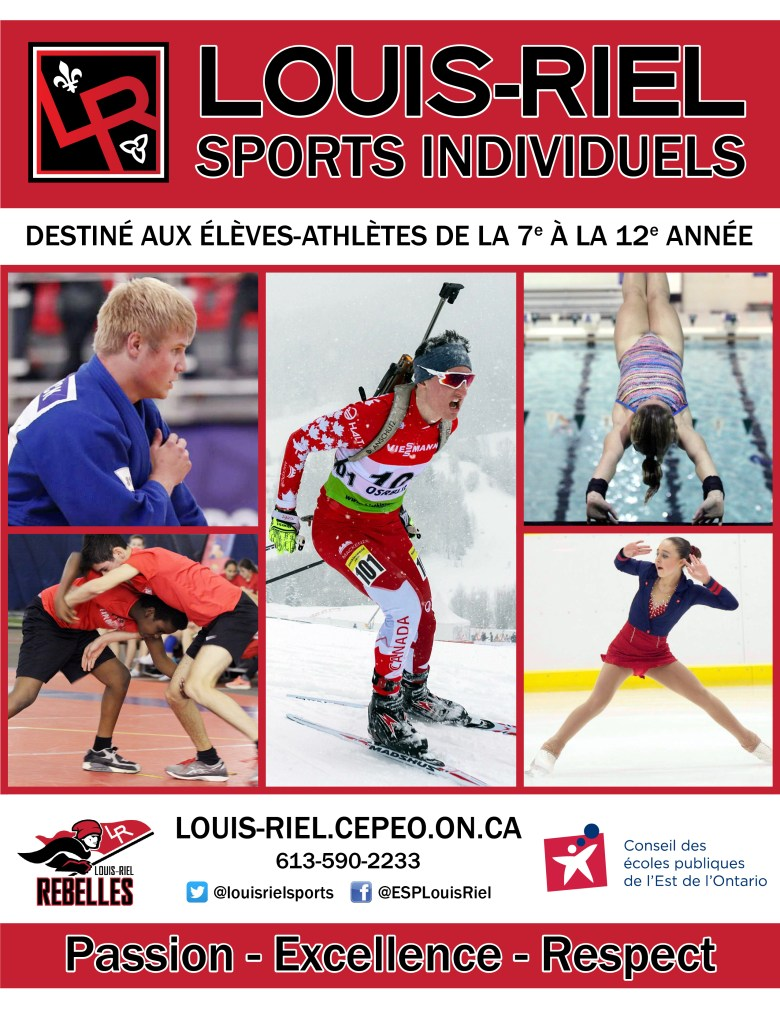 Sports Individuels page couverture
