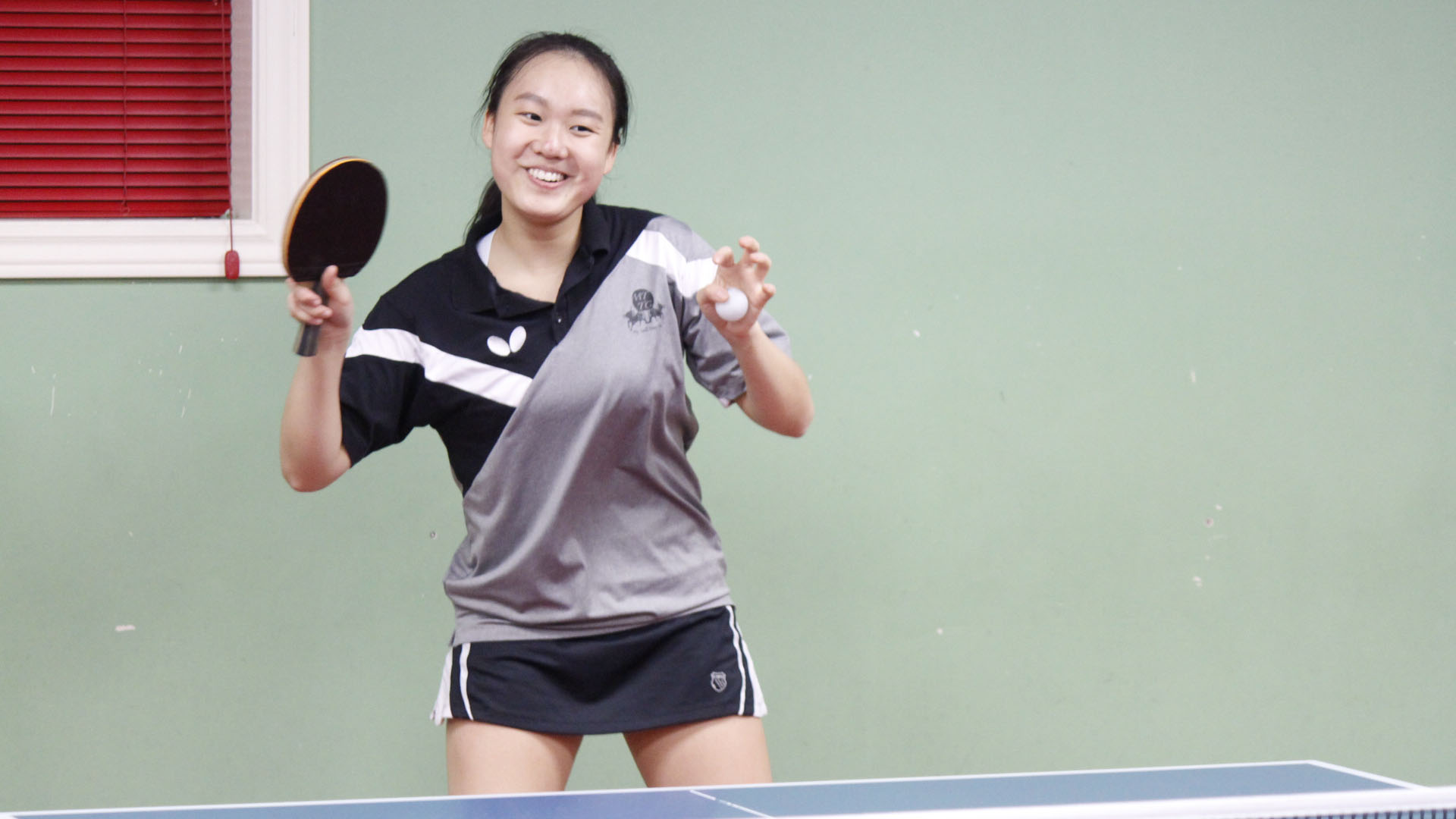 Ann Shiao practicing at the Academy