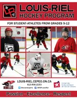Hockey cover page