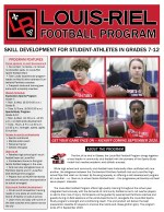 Football cover page