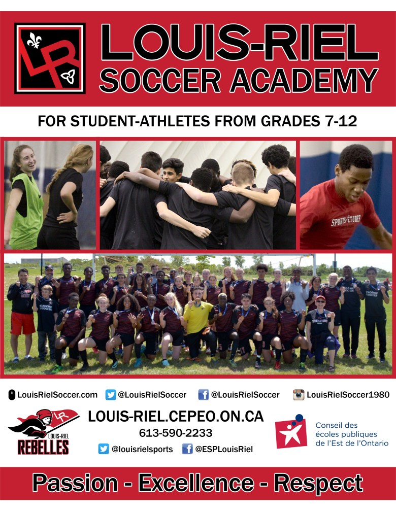 Soccer cover page