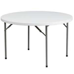Patio foldaway round table 48''