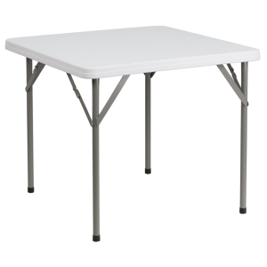 Patio foldaway square table 48''