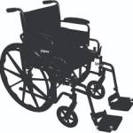 Wheelchair 20""
