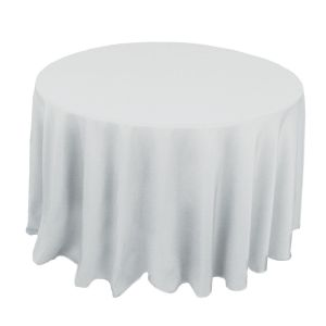 120 Round Tablecloth for Wedding Banquet
