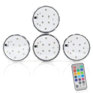Pack of 4 Waterproof LED Lights