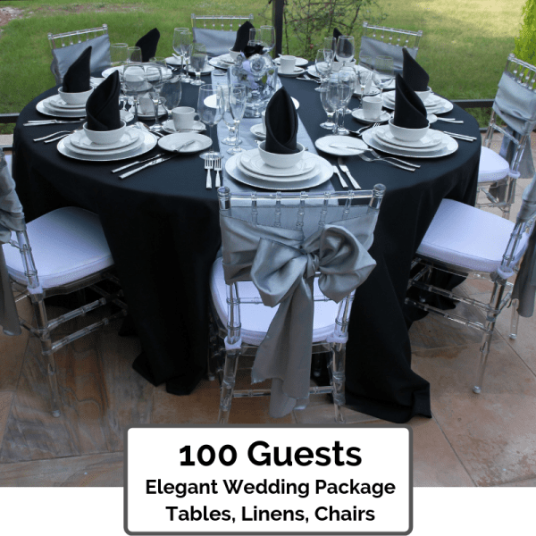 Elegant Wedding Packages Orlando 100 Guests