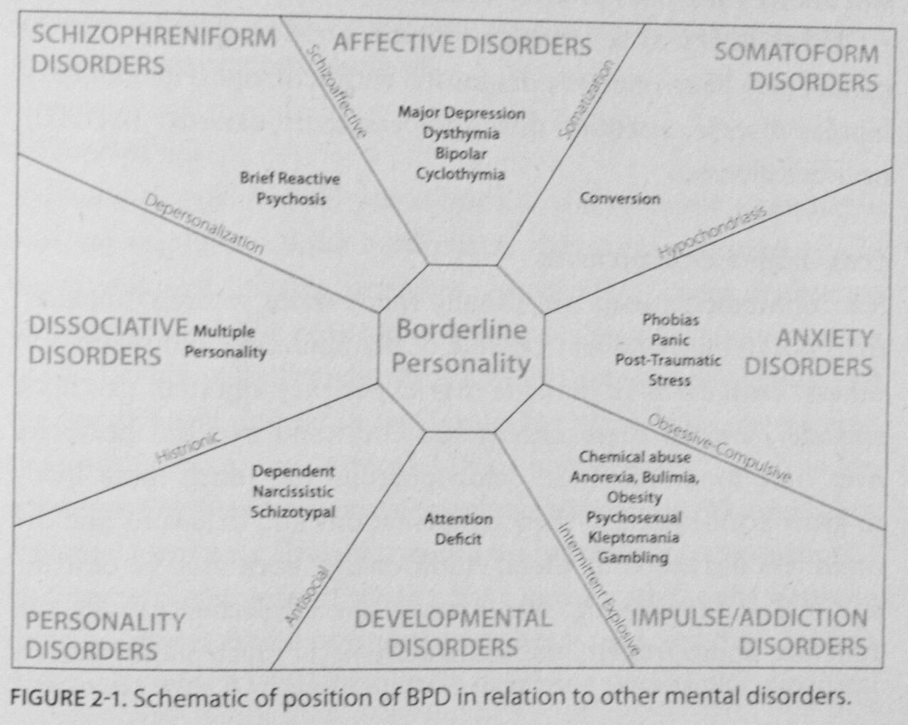Bpd The Fulcrum Of Mental Illness
