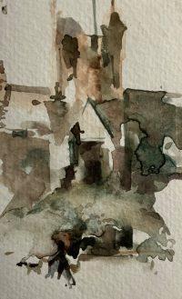 Crichton Study 4 13cm x 8cm unframed