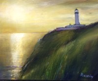 Lighthouse Oil on Canvas 60cm x 40cm