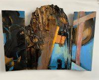 Triptych 3 60cm x 40cm 3D Mixed Media
