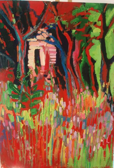 Hideaway - Acrylic thick paper