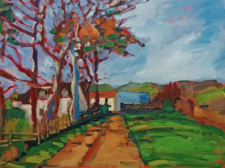 Mereshead - Oil on Canvas