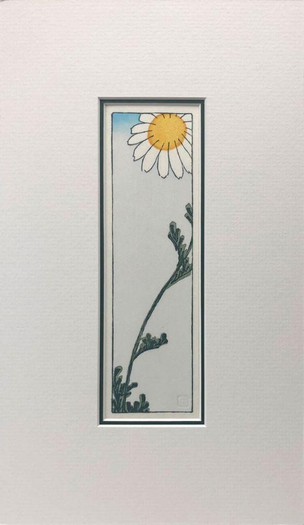 Hiroshige's Daisy woodblock print