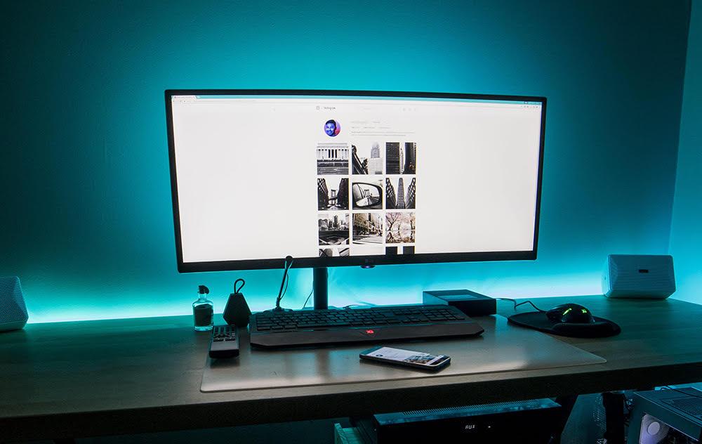occhiali per computer monitor