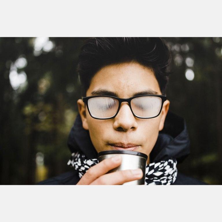 occhiali appannati