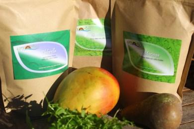 Green Powder Nahrungsergänzung im Winter